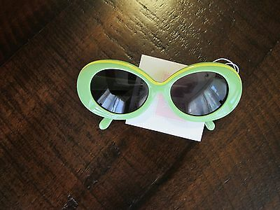 Janie and Jack Retro Green Sunglasses 2 3 4 Years NWT! VHTF! $14