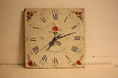 Vintage Wall Clock Antique Retro Longcase Clock Dial With Quartz Movement
