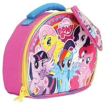 MY LITTLE PONY TWILIGHT RAINBOW Lead-Free Insulated Lunch Tote Box w/ Coin Purse