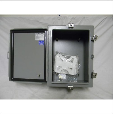 "Weigmann N4161208 16"" x 12"" x 8"" Nema 4 Hinged Enclosure"