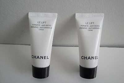 Lot of 2 Chanel LE LIFT Creme Firming Anti-wrinkle Cream Creme    *(5 ml each)*