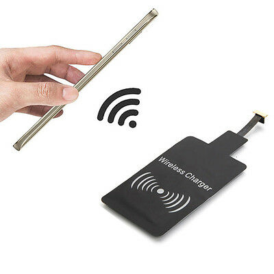 Universal Qi Wireless Charging Receiver Charger Module for Micro USB Cell Phone.