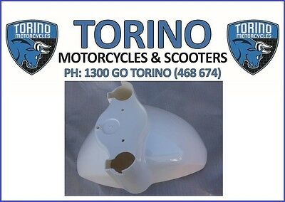 Torino Famosa Front Mud Guard White - OEM Torino Spare Parts