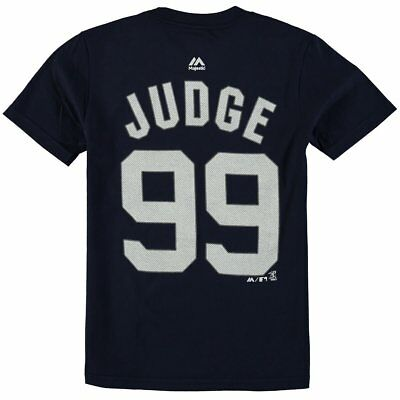 Aaron Judge New York Yankees #99 MLB Youth Player Name & Number T-shirt