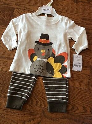 Carter's Thanksgiving Outfit Size: 3 Months NWT
