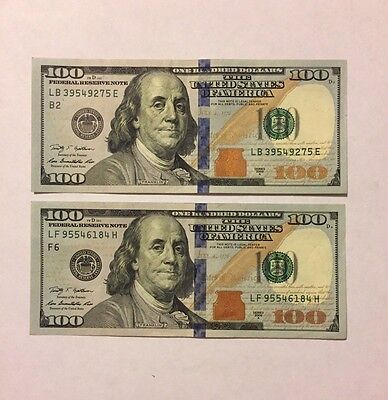 $100 Dollar Bill! 2009-2009A Series! FAST SHIPPING! Lightly Circulated!