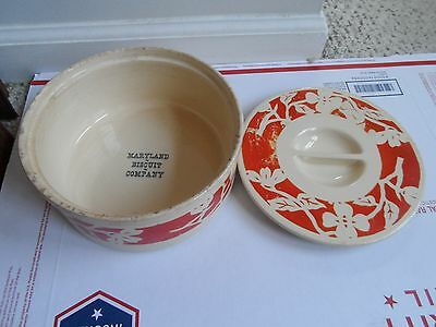 Antique MARYLAND BISCUIT COMPANY LIDDED DISH NABISCO