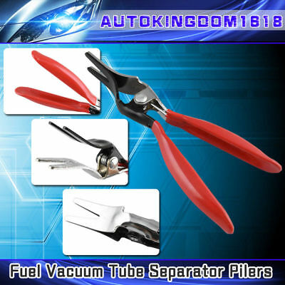 Angled Car Fuel Vacuum Line Tube Hose Remover Separator Pliers Pipe Tool