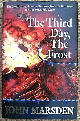 The Third Day, The Frost by John Marsden, HCDJ, VGC