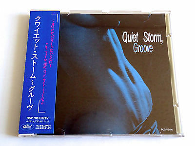 QUIET STORM GROOVE V.A. JAPAN PROMO CD 1992 w/OBI Melba Moore Dave Koz Whispers