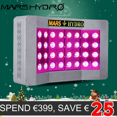 Neuest Mars Pro II Cree 128 LED Grow Light Medical Plant Indoor Full Spectrum