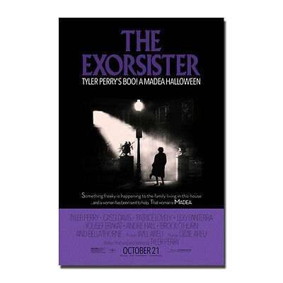 THE EXORCIST Classic Horror Movie Art Silk Poster 13x20 32x48 inches