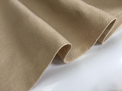 FELT FABRIC Material Craft Plain Colours Polyester 102cm Wide NUDE