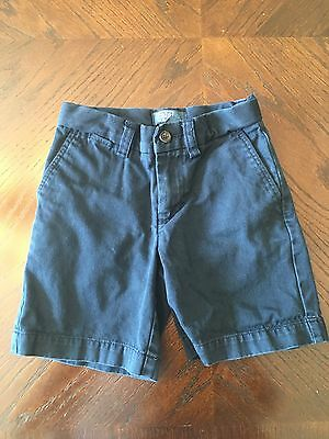 Boys Polo By Ralph Lauren Shorts, Navy Blue, Size 4