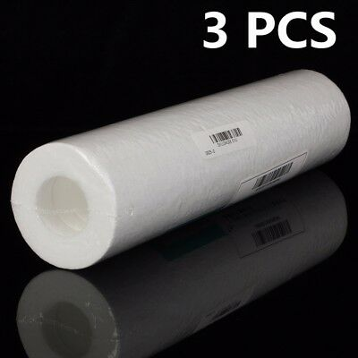 3 x 5 microns 10 '' Cartridge Reverse Osmosis RO.Sediment Filtre Purificateur d'