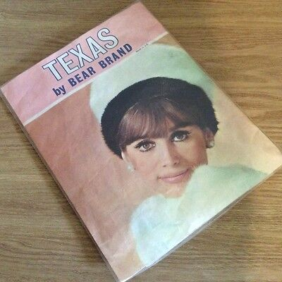 Texas Vintage Stockings by Bear Brand, col Sunshade, size 9.5