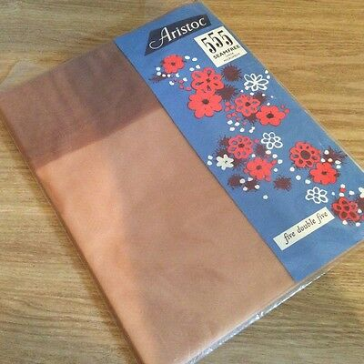 Aristoc, Five Double Five, Vintage Stockings, Col Mexico, size 10.5