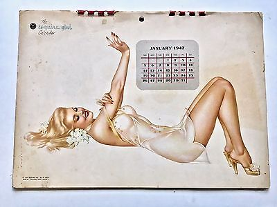 1947 Esquire Girl Calendar Pin Up Girl Varga