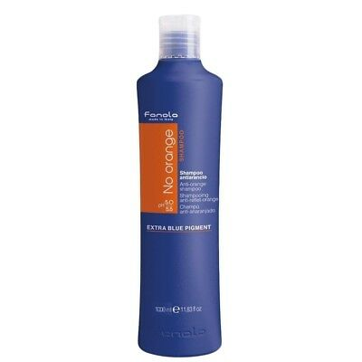 No Orange Shampoo-Extra Blue Pigment/Antiarancio Fanola 1000 ml
