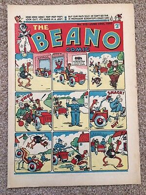 The Beano Comic issue No.312 June 28th 1947