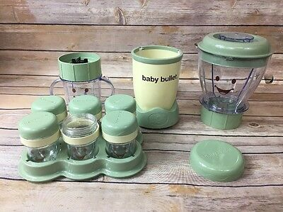 Baby Bullet Food System Excellent Condition See Description for details