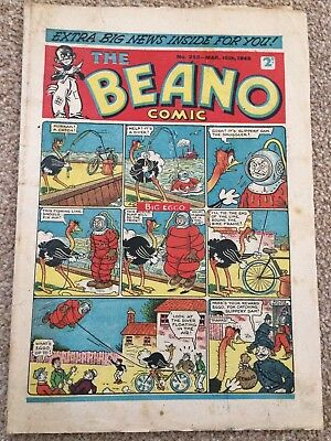 The Beano Comic issue No. 253 Mar 10th 1945