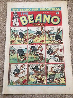 The Beano Comic issue No. 203 April 10th 1943