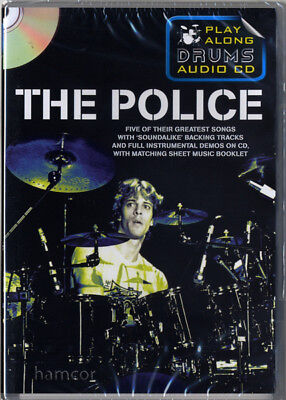 The Police Play Along Drums Audio CD Drumming Backing Tracks & Music Booklet