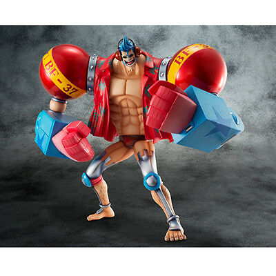 NEW One Piece Franky Sailing Again Maximum 1/8 PVC Figure Megahouse From Japan