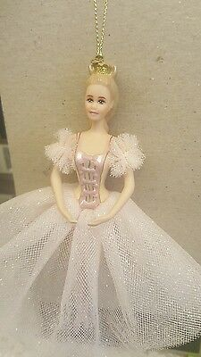 Avon Barbie as the Sugar Plum Fairy in the Nutcracker 1997 Porcelain Ornament