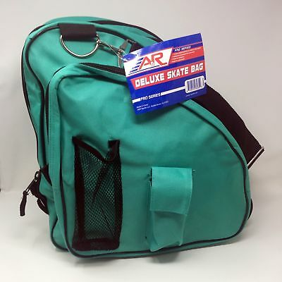 A&R Deluxe Ice Figure Skate Carry Bag Roller Blade In Line Bag Turquoise-9