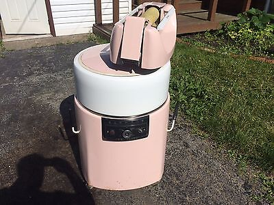 vintage kenmore wringer washer visi-matic pink and white 2 speed no.6202801