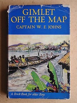 Gimlet Off The Map. Captain W E Johns. 1951 HB in DJ 1st Edition.