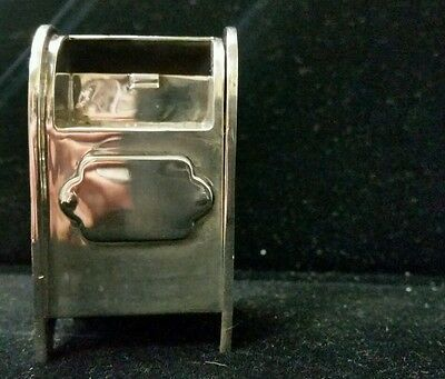 Tiffany & Co Sterling Silver Mailbox Stamp Holder 925