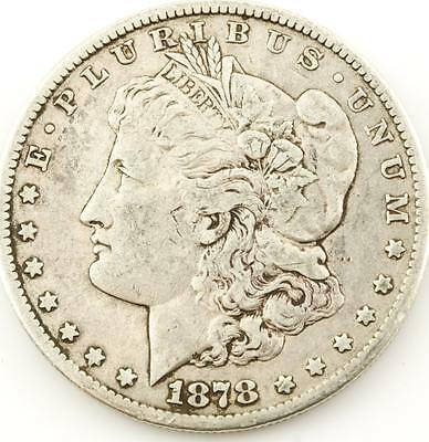 1878-CC Carson City Mint Morgan Silver Dollar VF-XF * Circulated US Coin *