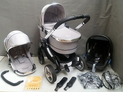 iCandy Peach 2 Silver Mint FULL TRAVEL SYSTEM !!!
