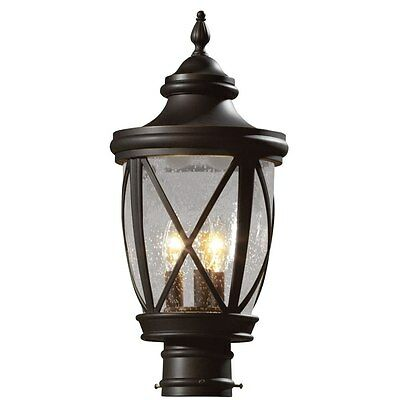 Allen Roth 19 5 H Rubbed Bronze Traditional Outdoor Lantern