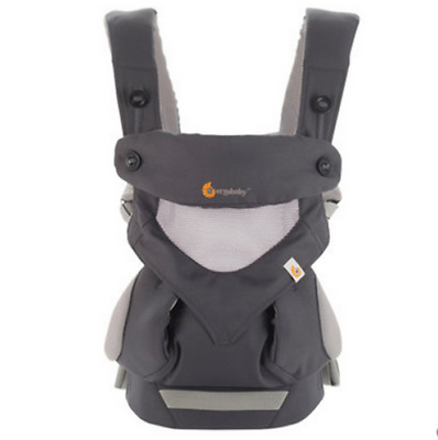 New Ergo 360 Baby Four Position carrier Dusty gray   AAA