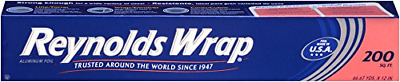 Reynolds Wrap Aluminum Foil, Standard, 200 Square Foot Roll