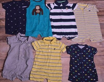 Baby Boy 24 Months Summer One piece Outfit Romper Clothes Lot Free Ship