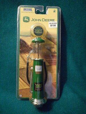 John Deere Diecast 1920's Style Gas Pump Collectible