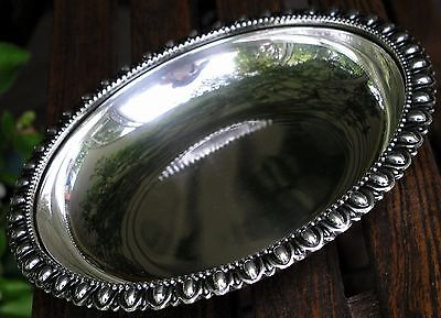 ROBERT ANSTEAD HAND MADE Silver Plate Candy Bowl Dish Mid Century Mod EAMES ERA