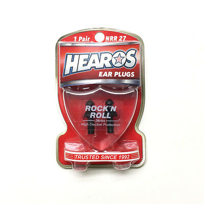 Hearos Rock 'N Roll Ear Plugs 1 Pair 309 NRR 27