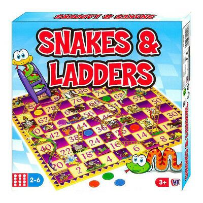 Snakes & Ladders Classic Board Game NEW