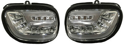 Pathfinder Led Front Turn Signal Kit Clear G18DTC