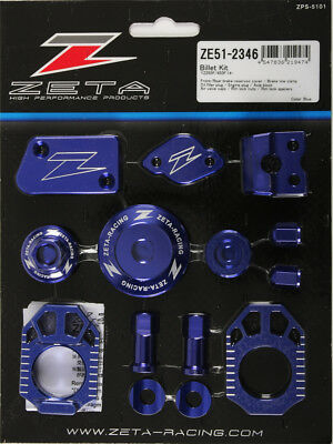 Zeta Zeta Billet Kit Yamaha Blue ZE51-2346