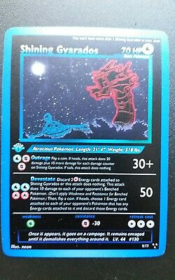 ☆Shining Gyarados Triple Star Neo Set Limited Edition Custom Art Pokemon Card