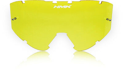 Hmk Vapor Goggle Lens Yellow W/Tear-Off Pins HM5LENS - YELLOW W/