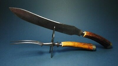 Knife old altes Messer solingen Zwilling Henckels 1900 hunting besteck vintage