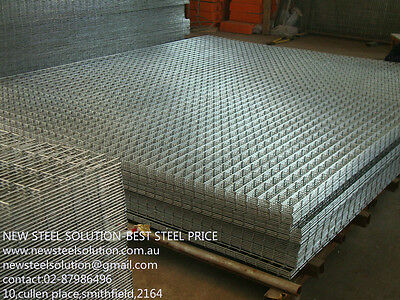 Galvanised Steel Wire Mesh-2.5Mm*25Mm*25Mm*1.2M*2M Suitable For Car Trailer,cage